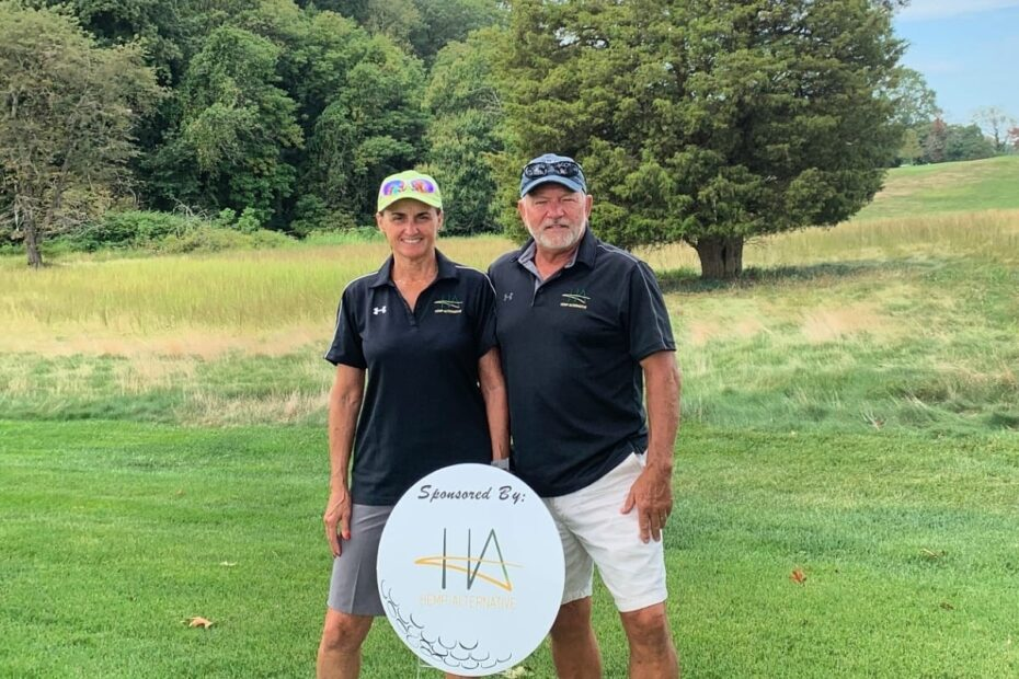 Hemp-Alternative team at The Stroud Center's Fore Freshwater Golf Invitational