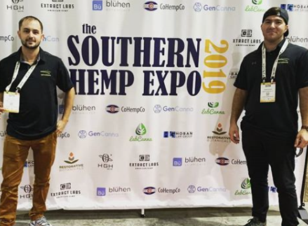 Hemp-Alternative team at the 2019 Southern Hemp Expo