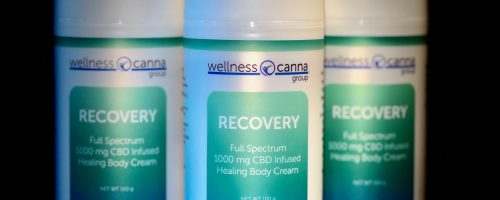 Recovery Full Spectrum 1000 mg CBD Infused Healing Body Cream